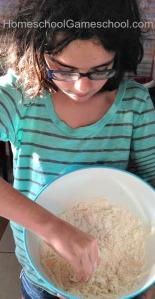 DIY cloud dough sensory recipe