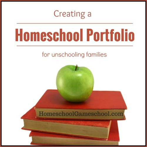 Unschooling portfolio