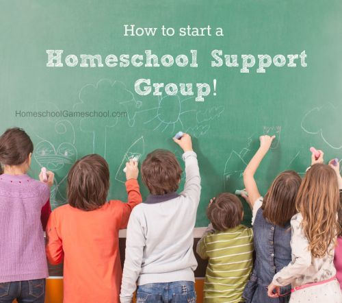 How to start a homeschool support group